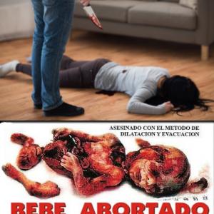 Asesinato de un adulto y Aborto