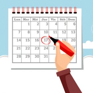 Calendario de Días Festivos / No Laborables