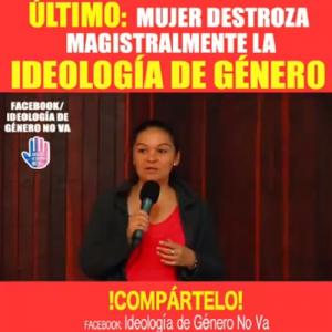 Conferencista Destroza la Ideología de Género