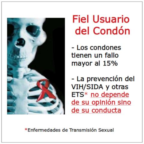 Preservativos para la Protección contra la Seroconversión VIH