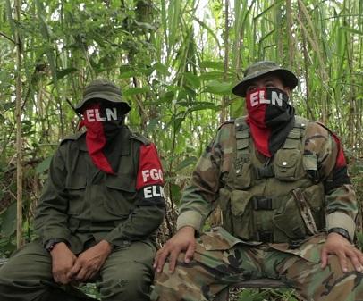 Guerrilleros - Terroristas del ELN