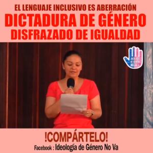 """La Ideología de Género y el Lenguaje """"Inclusivo"""""""