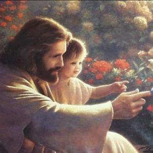 Jesucristo y un niño