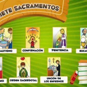 Los 7 Sacramentos instituidos por Cristo