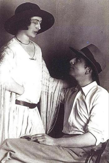 Mary Garman y Roy Campbell