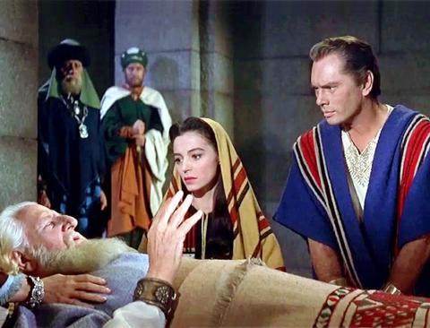 Muerte del Rey David: ¡Animo, se un hombre!