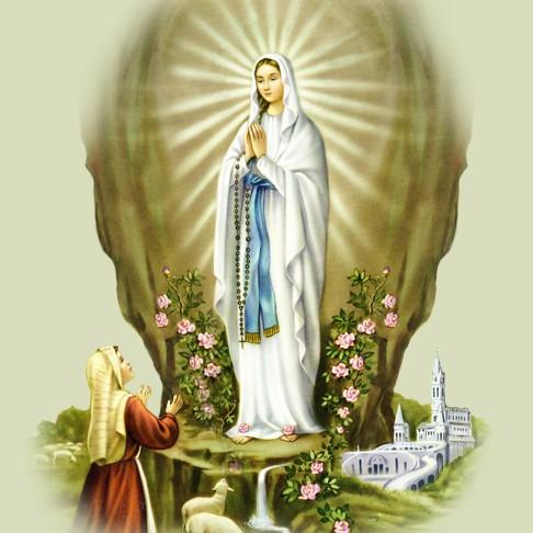 Saludos de Cumpleaños en el dia de Nuestra Señora de Lourdes