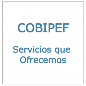 COBIPEF: Servicios que Ofrecemos