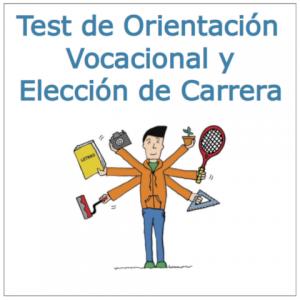 Test de Orientacion Vocacional y Eleccion de Carrera
